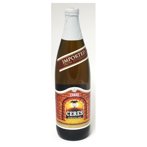 BIRRA CERES STRONG ALE CL.66