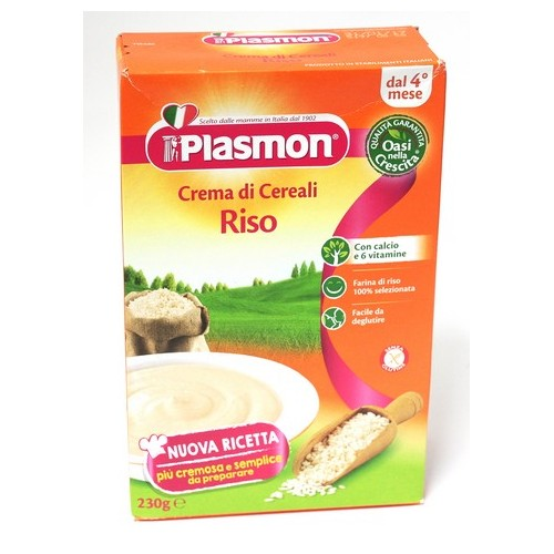 MINESTRA CREMA RISO PLASMON GR.230