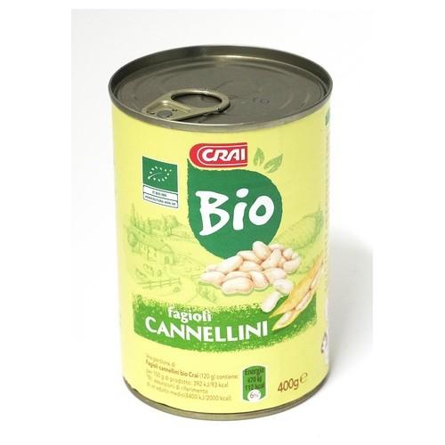 FAGIOLI CANNELLINI BIO CRAI LT. GR.400