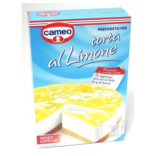 PREPARATO TORTA AL LIMONE CAMEO GR.305