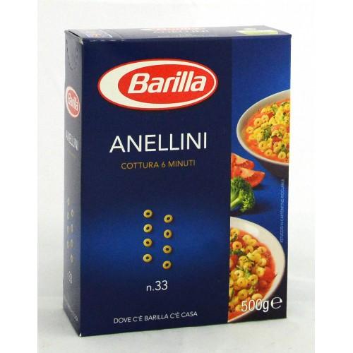 PASTA ANELLINI BARILLA GR.500