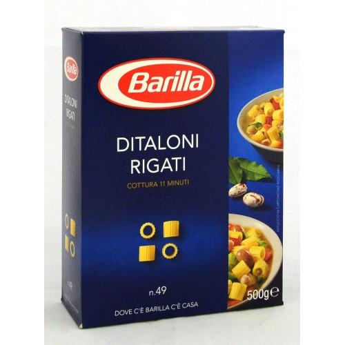 PASTA DITALONI RIGATI BARILLA GR.500