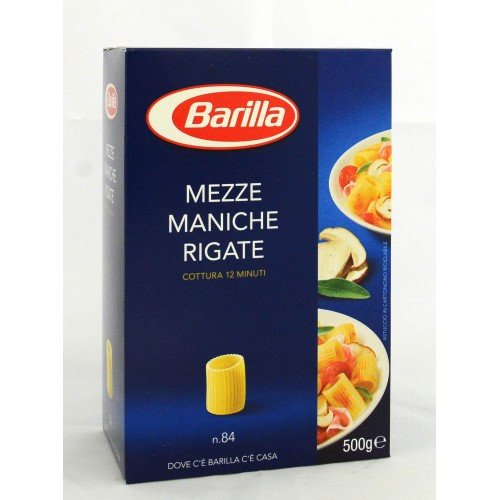 PASTA MEZZE MANICHE RIG. BARILLA GR.500