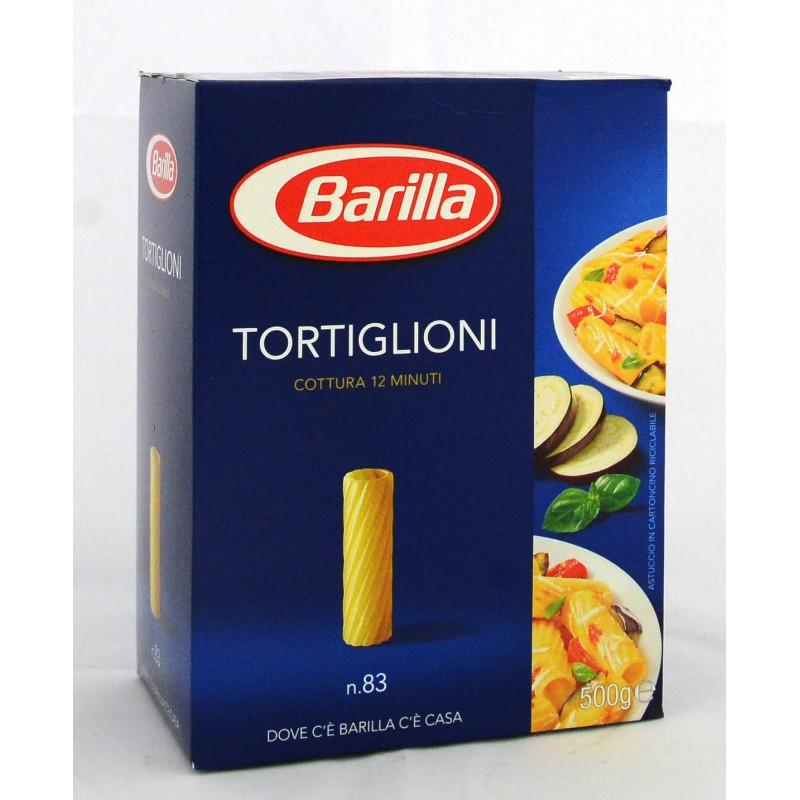 PASTA TORTIGLIONI BARILLA GR.500