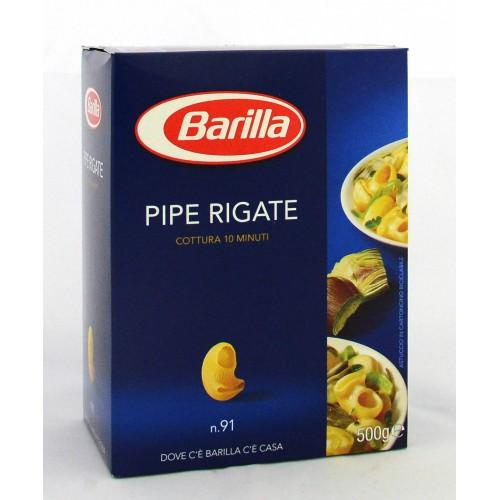 PASTA PIPE RIGATE BARILLA GR.500