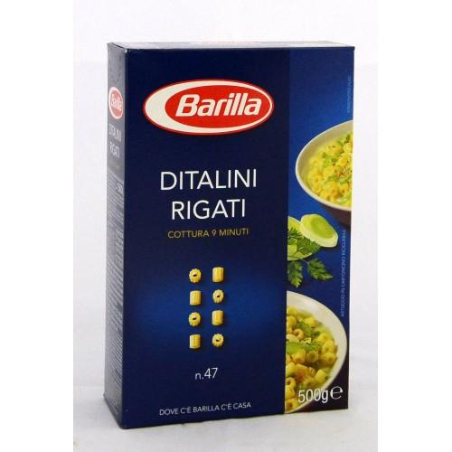 PASTA DITALINI BARILLA GR.500