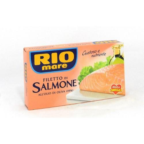 FILETTI SALMONE O/OLIVA RIO MARE GR.150