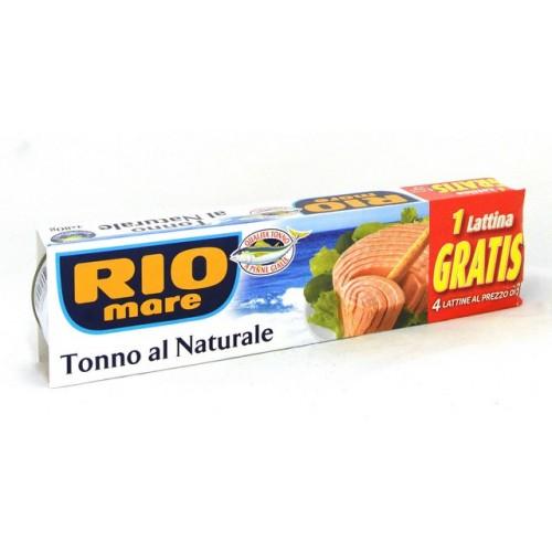 TONNO NATURALE RIO MARE GR80X3+1