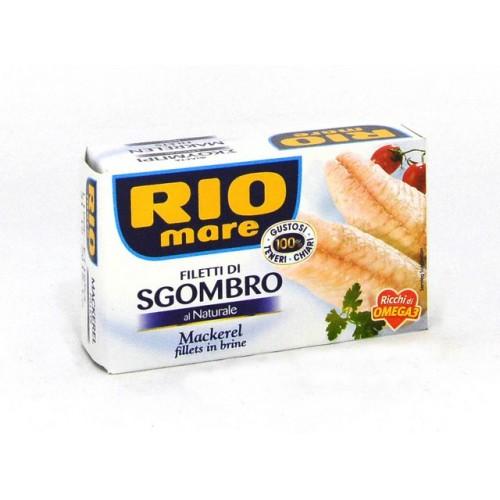 FILETTI SGOMBRO NAT. RIO MARE GR.130