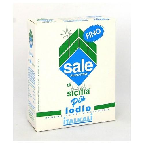 SALE DI SICILIA IODIO FINO KG.1