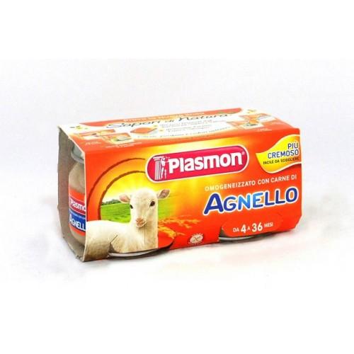 OMOGENEIZZATI AGNELLO PLASMON GR.80X2
