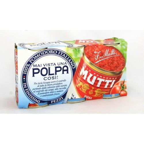 POLPA POM. MUTTI BARATTOLO GR.400X3