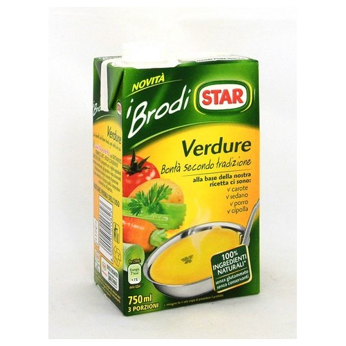 BRODO PRONTO VERDURE STAR ML.1000