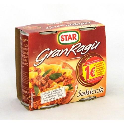 SUGO RAGU' SALSICCIA STAR GR.180X2