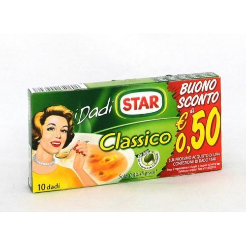 DADO CLASSICO STAR X10 GR.100