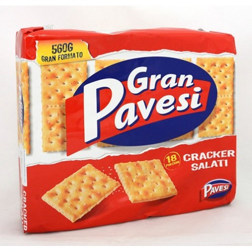 CRACKERS SALATI GR.PAVESI GR.560