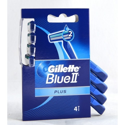 RASOI GILLETTE BLUE II PLUS 4