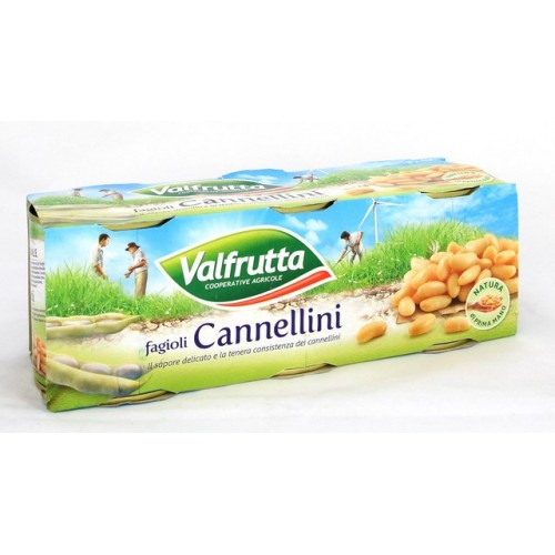 FAGIOLI CANNELLINI VALFRUTTA GR.400X3
