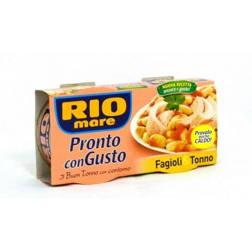 INSALATA TONNO FAGIOLI RIO MARE GR.160