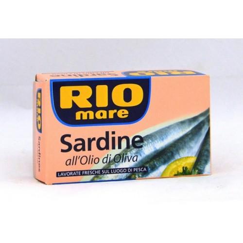 SARDINE RIOMARE O/OLIVA GR.120