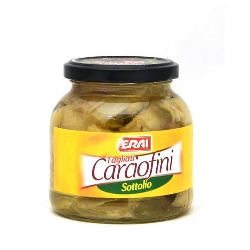 CARCIOFINI TAGLIATI S/OLIO CRAI GR.280