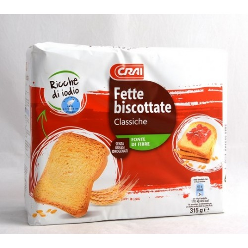 FETTE BISC.CLASSICHE CRAI PZ.40 GR.315