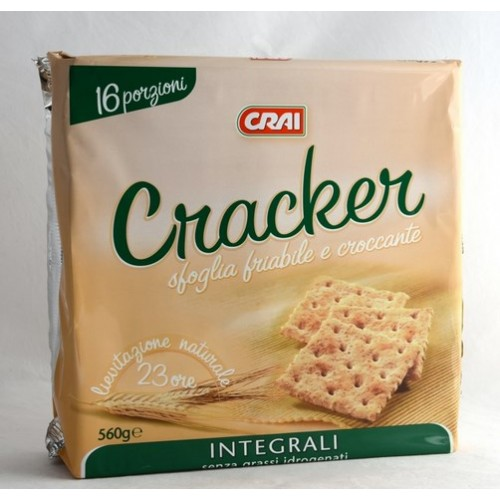 CRACKERS INTEGRALI CRAI GR.560