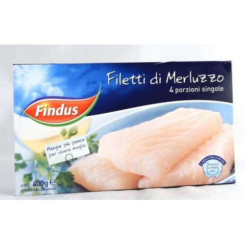 MERLUZZO FILETTI FINDUS GR.400