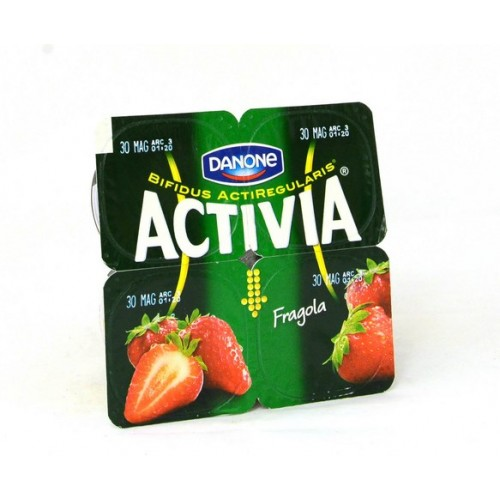 YOGURT FRAGOLA ACTIVIA 0 GR.125X4
