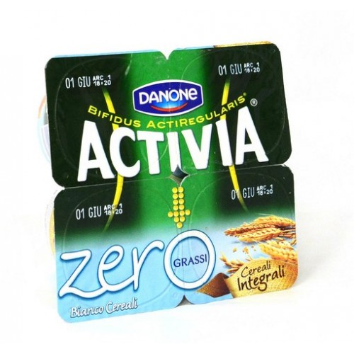 YOGURT CEREALI ACTIVIA 0 GR.125X4