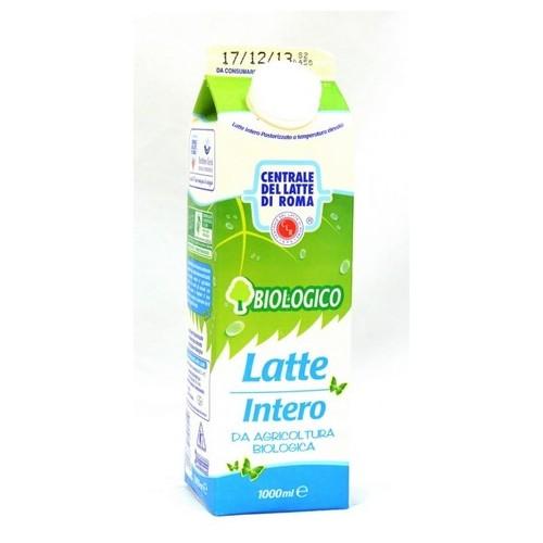LATTE FRESCO INTERO C.L.ROMA BIO LT.1