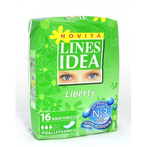 ASSORBENTI LINES IDEA LIBERTY PZ.15