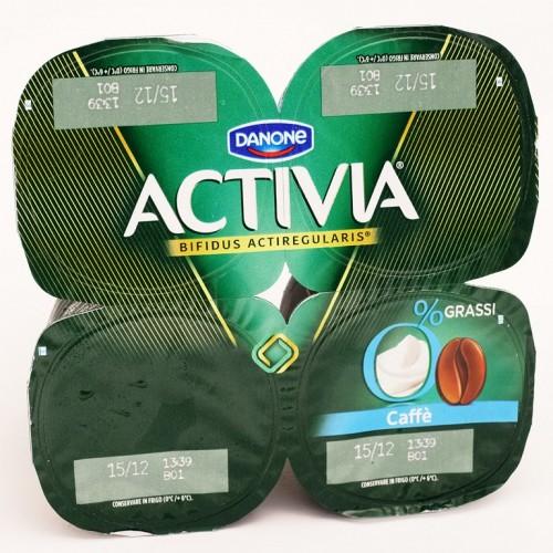 YOGURT CAFFE ACTIVIA 0 GR.125X4