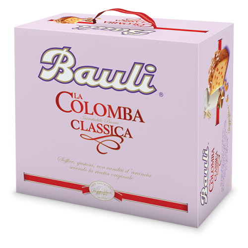 COLOMBA CLASSICA BAULI 750 GR