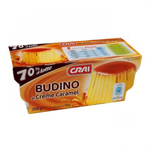 BUDINO AL CREME CARAMEL CRAI GR100X2