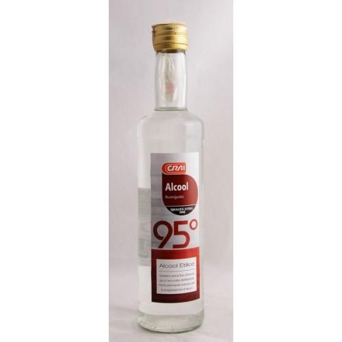 ALCOOL PURO CRAI 95 50CL