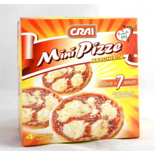 PIZZA MINI PIZZE MARGHERITA CRAI PZ.4