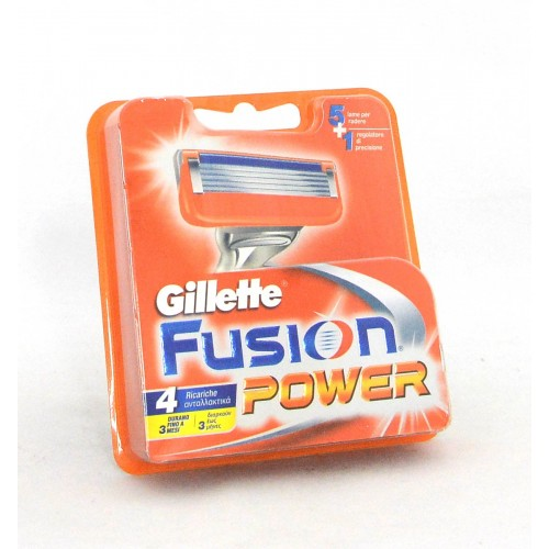 GILLETTE FUSION RIC/POWER X4