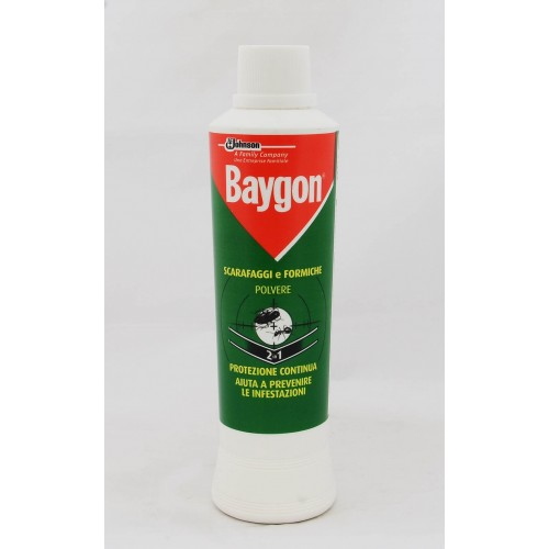 INSETTICIDA BAYGON POLVERE SCARAFAGGI GR.250