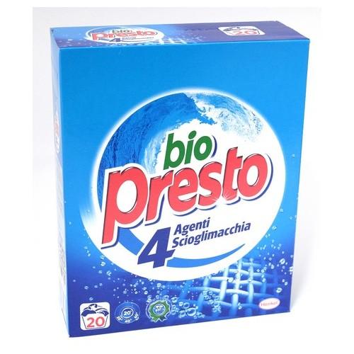 DETERSIVO BIO PRESTO 20 MISURINI KG.1,1