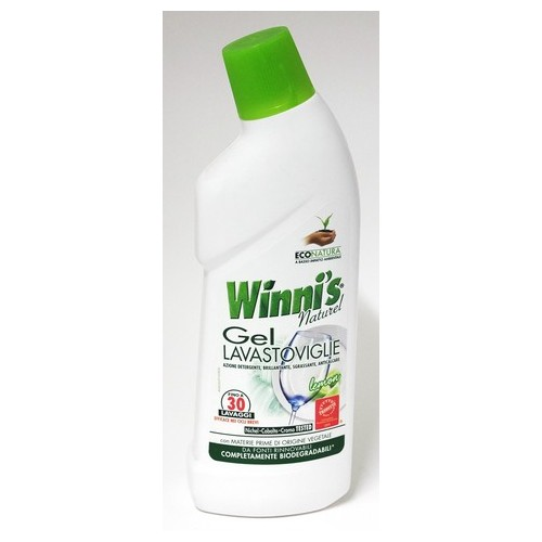 DETERSIVO LAVASTOVIGLIE GEL WINNI'S ML.750